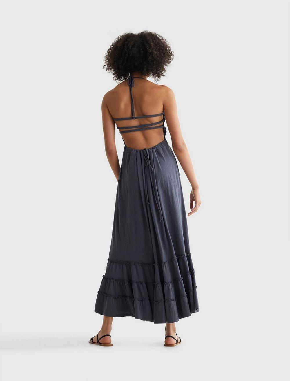 BOHO KNIT MAXI DRESS, image 3