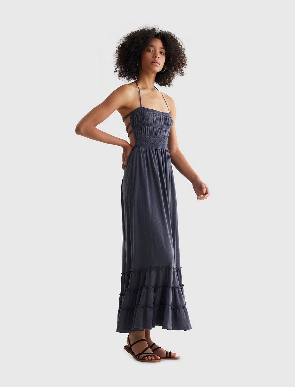 BOHO KNIT MAXI DRESS, image 4