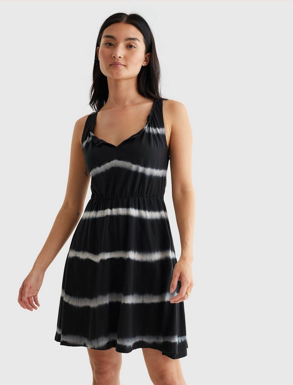 SLEEVELESS BABYDOLL DRESS, image 1