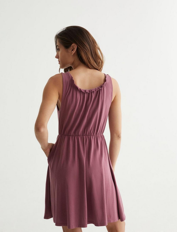 SLEEVELESS BABYDOLL DRESS, image 4