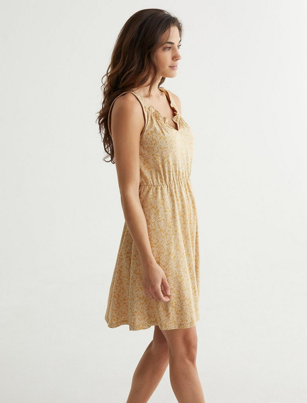 SLEEVELESS BABYDOLL DRESS, image 3