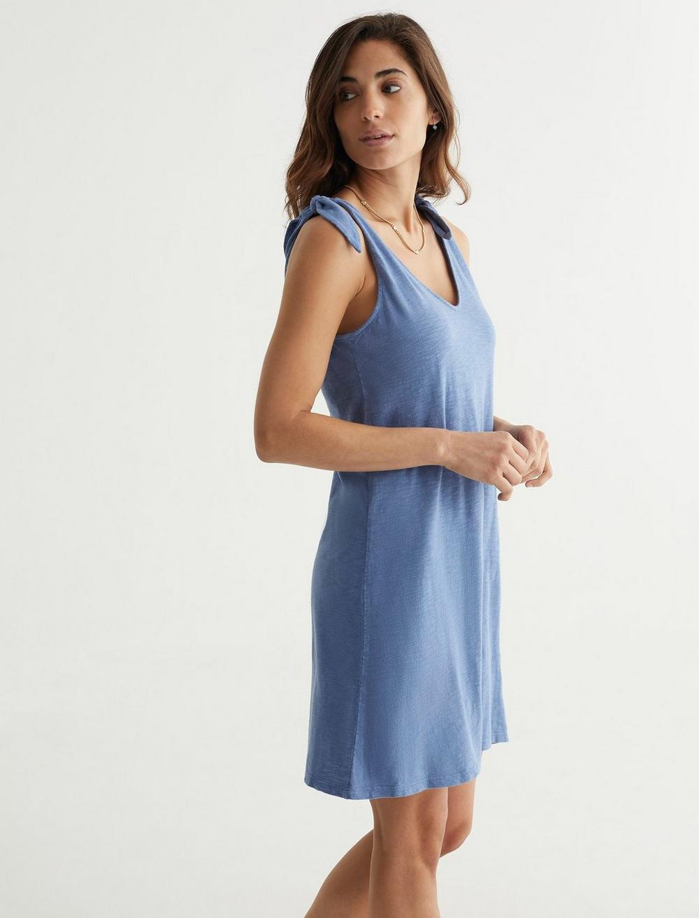 KNOTTED TANK DRESS, image 3