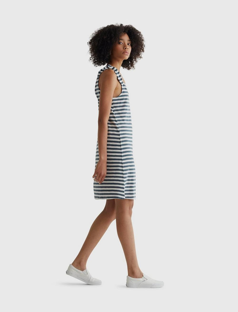 KNOTTED TANK DRESS, image 4