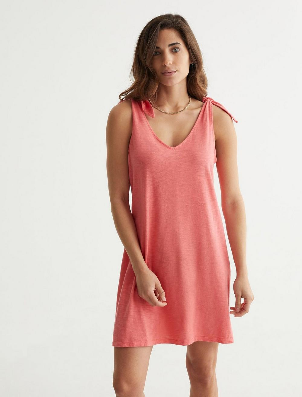KNOTTED TANK DRESS, image 1