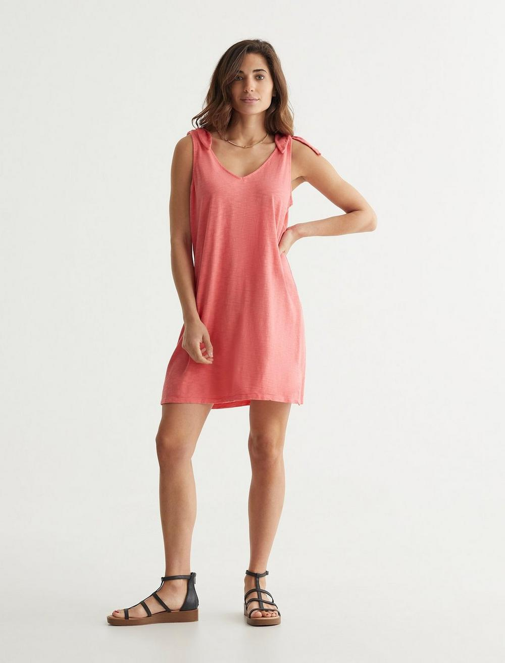 KNOTTED TANK DRESS, image 2