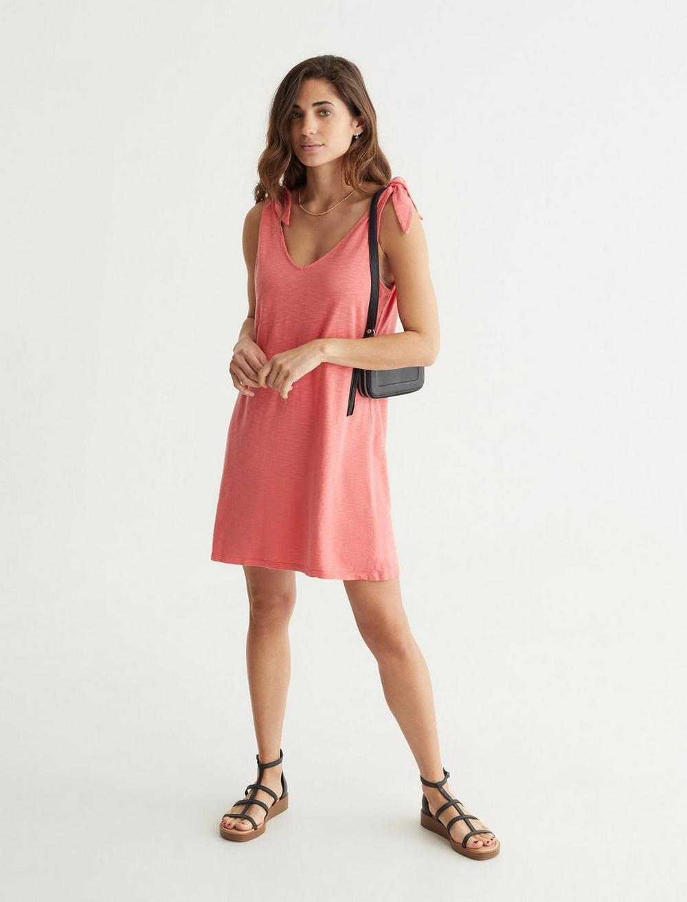 KNOTTED TANK DRESS, image 6