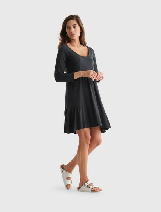 WEEKEND DRESS, JET BLACK, productTileDesktop