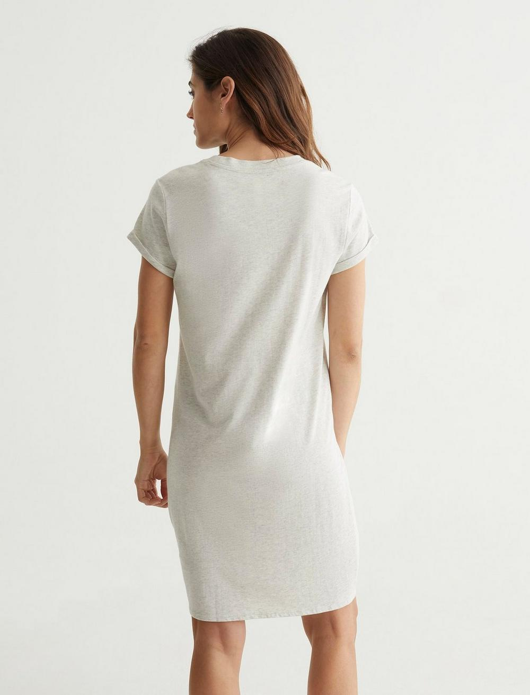 TWIST FRONT SHIRT DRESS, image 4