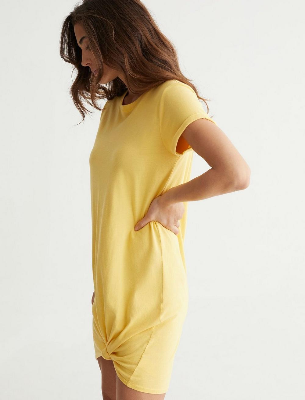 TWIST FRONT SHIRT DRESS, image 3
