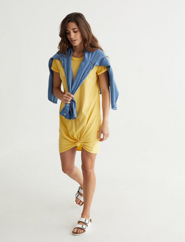 TWIST FRONT SHIRT DRESS, image 6