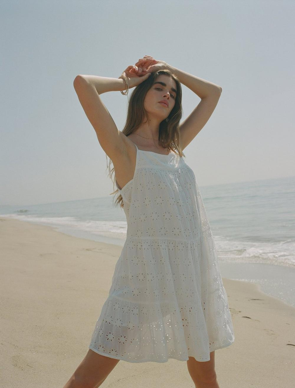 TIERED CAMI DRESS, image 7