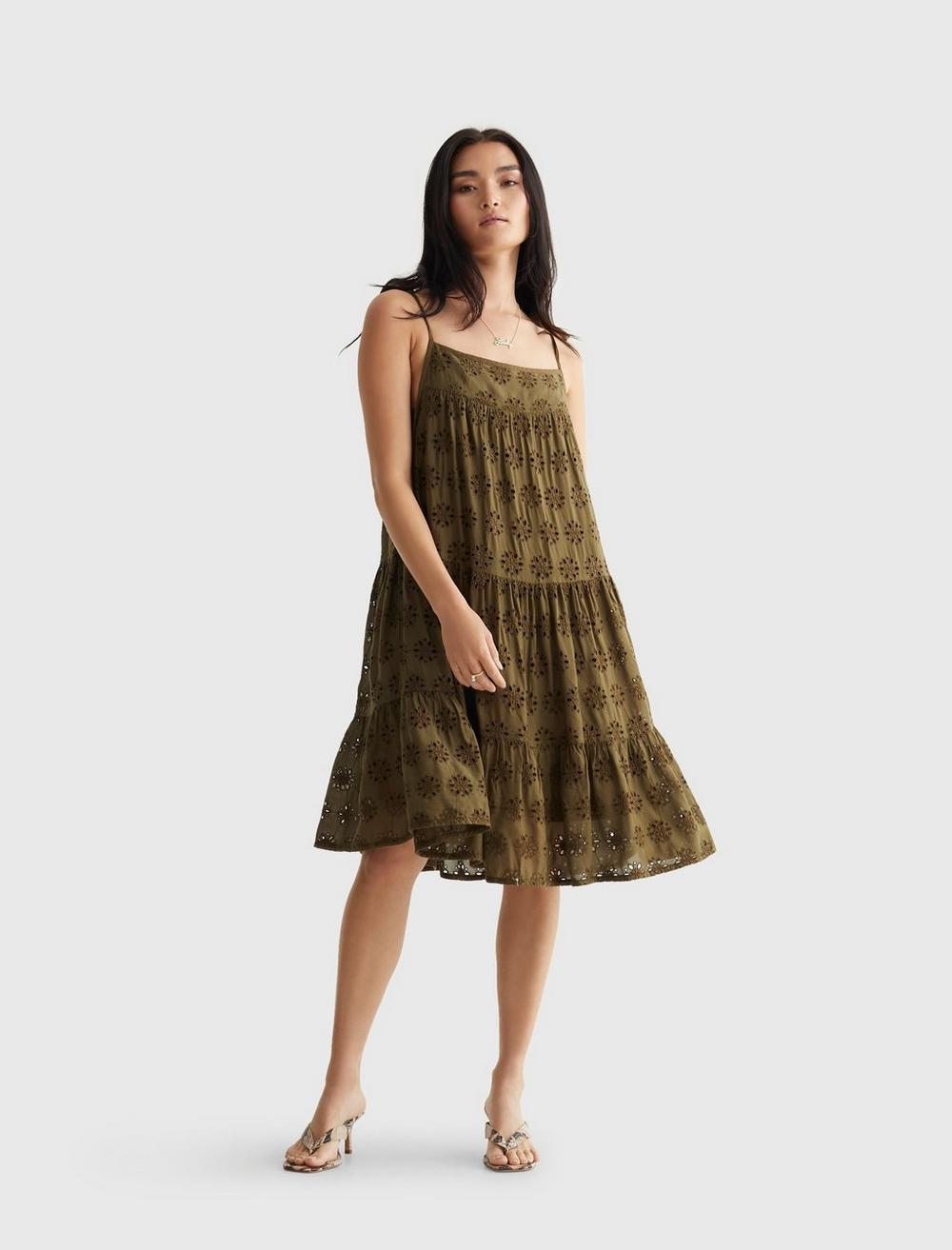 TIERED CAMI DRESS, image 1