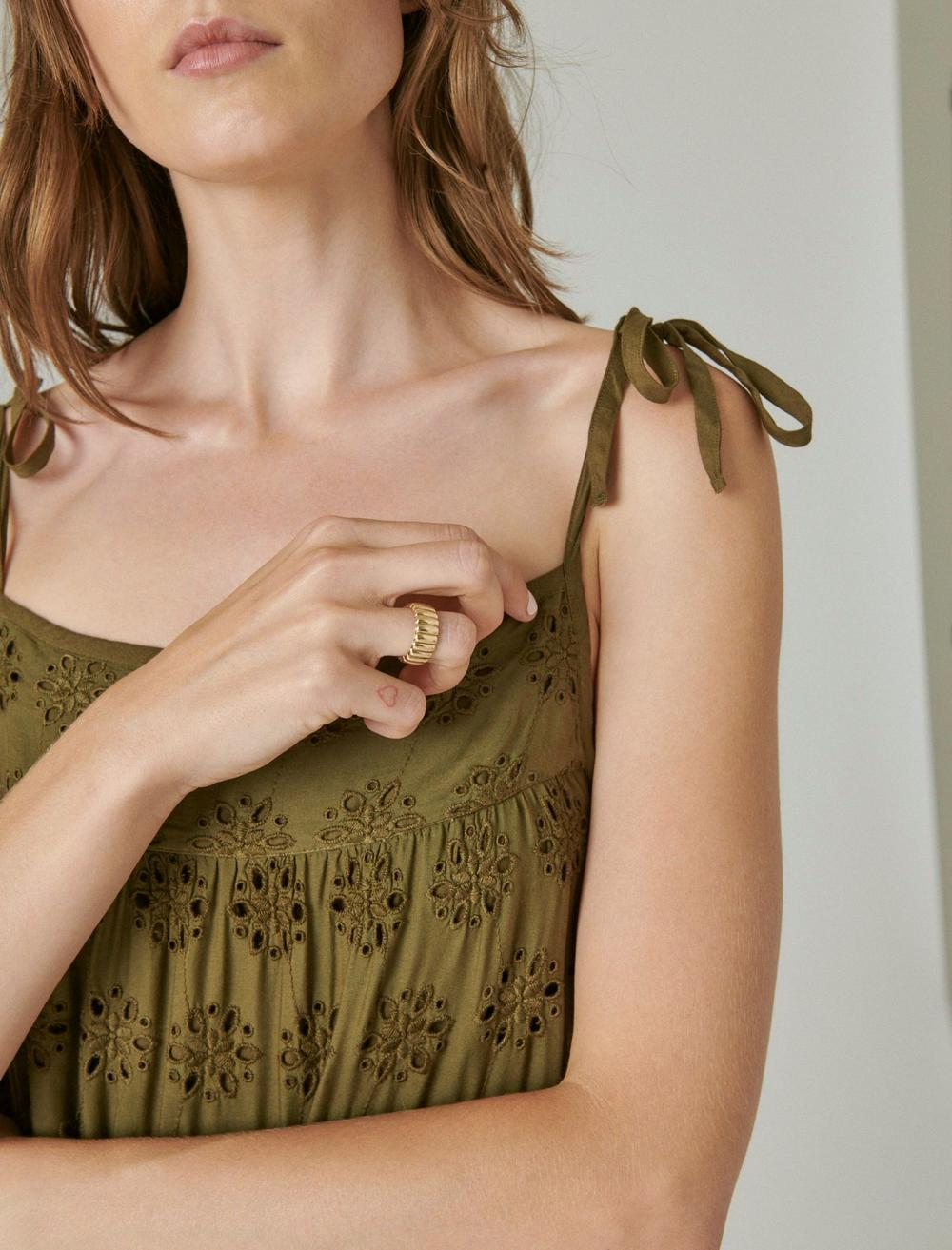 TIERED CAMI DRESS, image 4