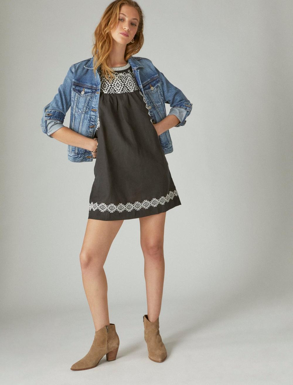 EMBROIDERED SLEEVELESS DRESS, image 2