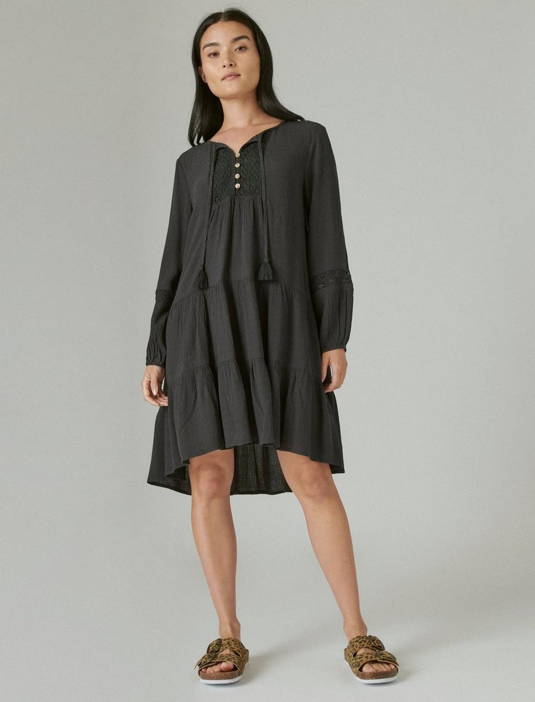 TIERED TUNIC DRESS, image 1