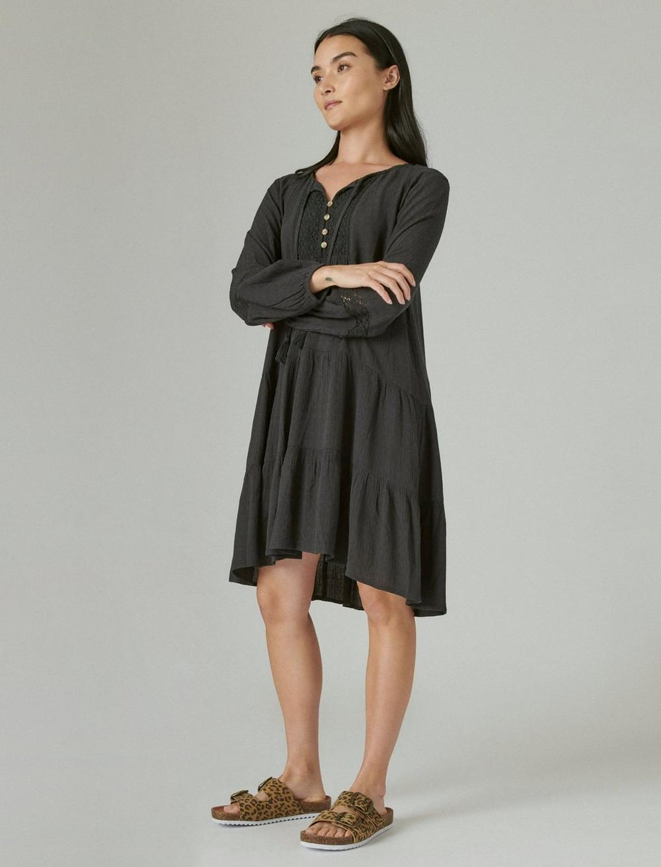 TIERED TUNIC DRESS, image 2
