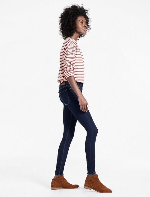 BROOKE MID RISE LEGGING JEAN IN BREAKER, BREAKER