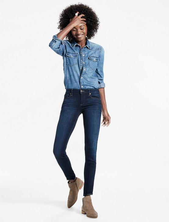 Stella Low Rise Skinny Jean In Laketown