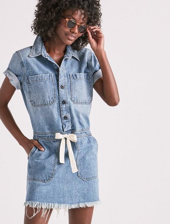 DRAWSTRING DRESS IN SEVILLE, SEVILLE, productTileDesktop