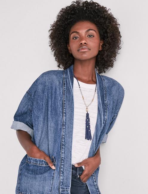 db25450c3 Denim Kimono Jacket | Lucky Brand