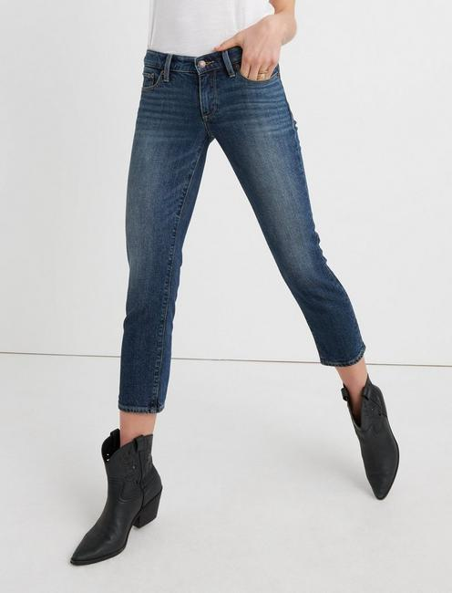 SWEET MID RISE CROP JEAN IN TIMBER LAKES,