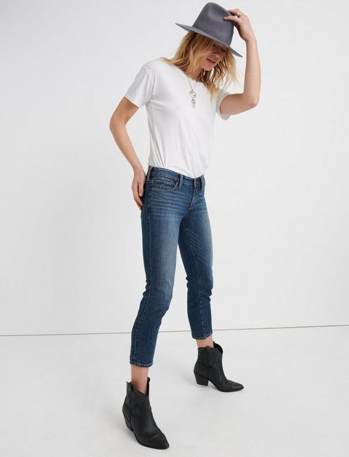 SWEET MID RISE CROP JEAN IN TIMBER LAKES, TIMBER LAKES