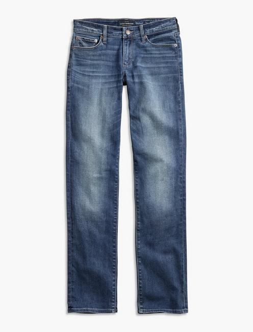 Sweet Mid Rise Crop Jean, FALVESTON