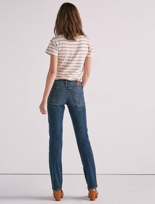 Sweet Mid Rise Straight Jean, SANTA CLARA