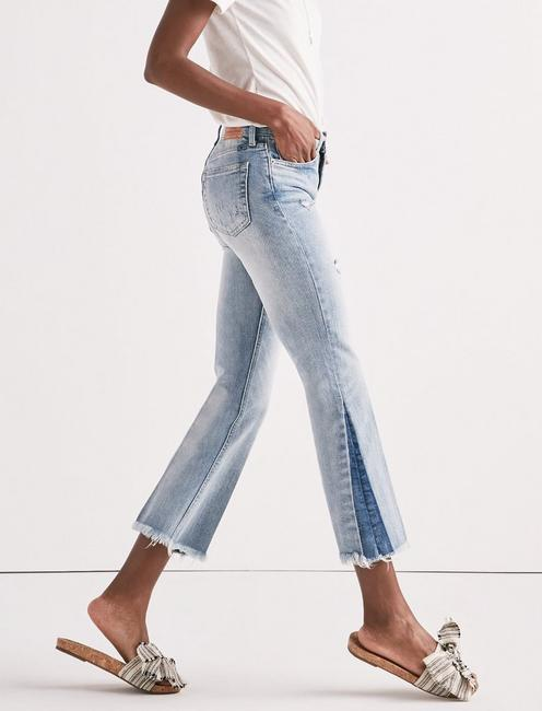 BRIDGETTE CROPPED FLARE JEAN IN MAYFIELD,