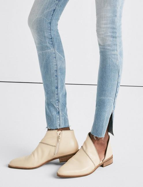 Ava Mid Rise Skinny Jean with Vent, SILVER SHOALS