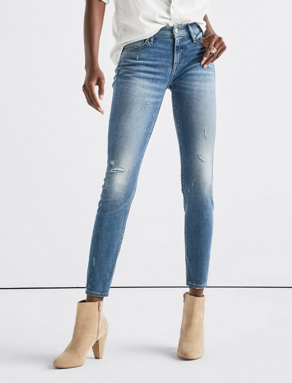 Ava Mid Rise Skinny Jean, image 1