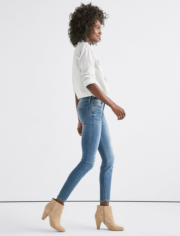 Ava Mid Rise Skinny Jean, image 2