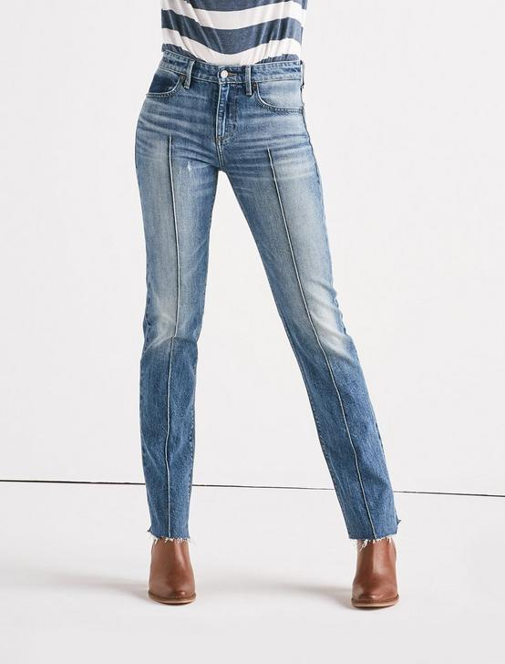 Remade Ava Mid Rise Slim Straight Jean, WATERVILLE, productTileDesktop