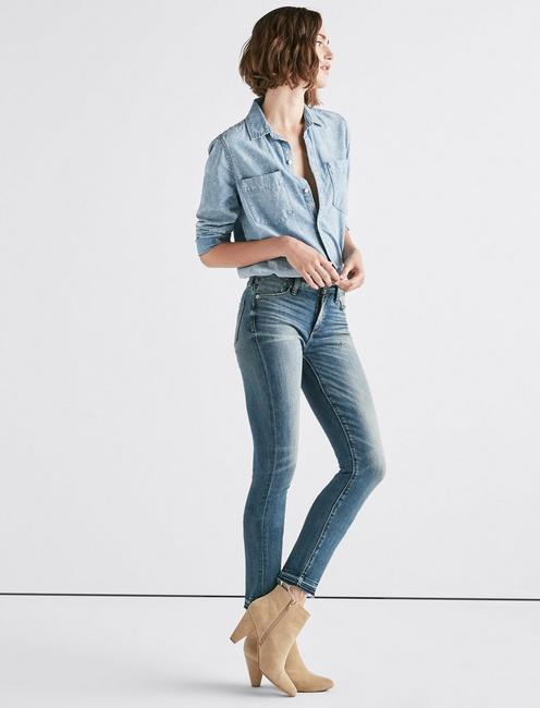 Hayden High Rise Skinny Jean, GREEN VALLEY