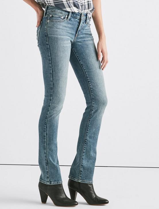 Sweet Mid Rise Straight Jean, HAVANA, productTileDesktop