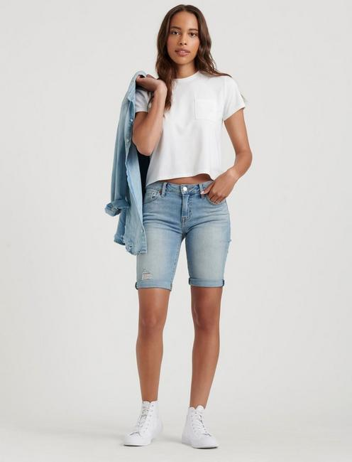 THE BERMUDA JEAN SHORT,