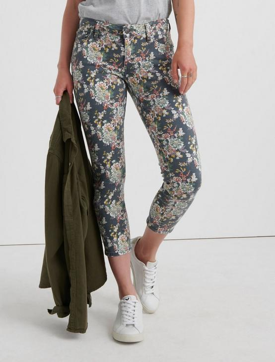 LOW RISE LOLITA SKINNY, GREY MULTI FLORAL, productTileDesktop