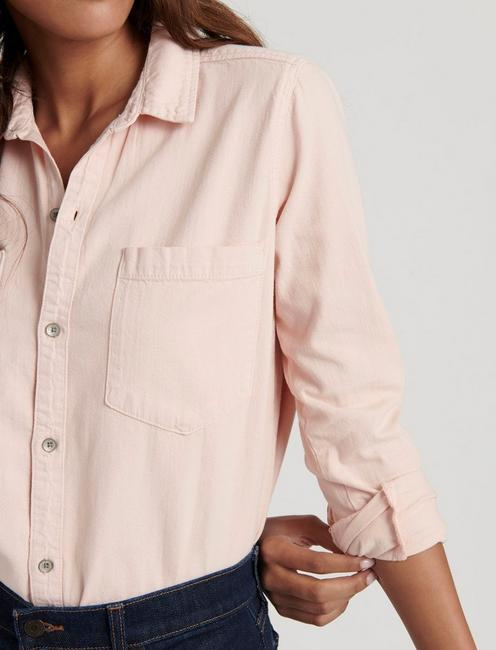 BOYFRIEND SHIRT, PALE BLUSH