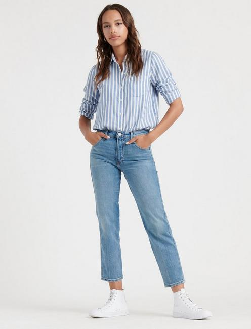 AUTHENTIC STRAIGHT CROP, LOUISE CL