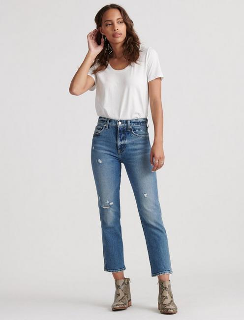 AUTHENTIC STRAIGHT CROP,