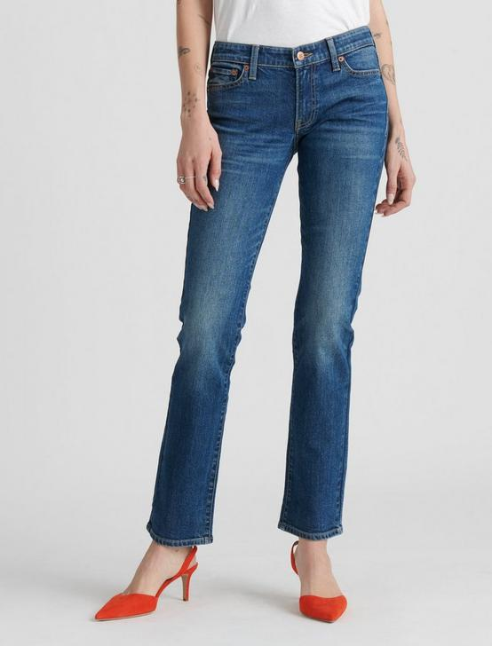 MID RISE SWEET STRAIGHT JEAN, WOODSTOCK, productTileDesktop