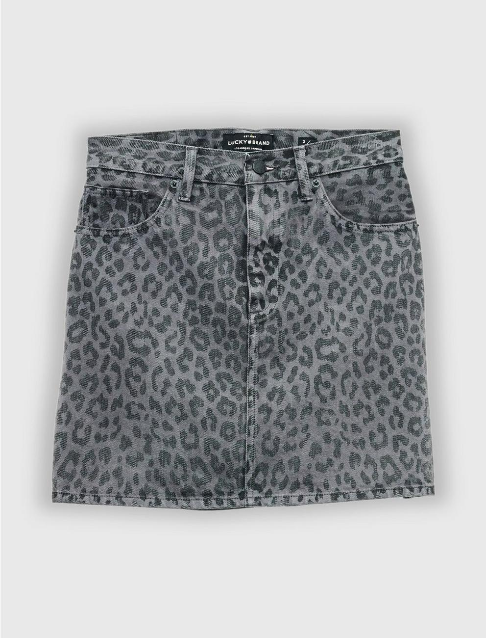 OLD FAVORITE MINI, LEOPARD BLK GREY