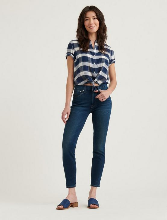 HIGH RISE BRIDGETTE SKINNY W/ EMB JEAN, FALLON, productTileDesktop
