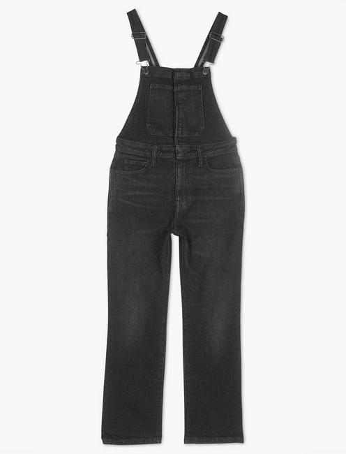 BRIDGETTE SLIM STRAIGHT OVERALL, SCORIA BLACK