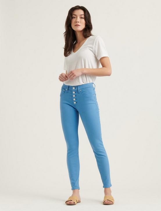HIGH RISE BRIDGETTE SKINNY W/ EXPOSED BUTTON FLY JEAN, LICHEN BLUE, productTileDesktop