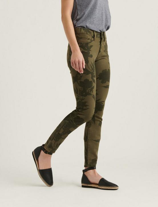 MID RISE AVA SKINNY JEAN, FLORAL CAMO, productTileDesktop