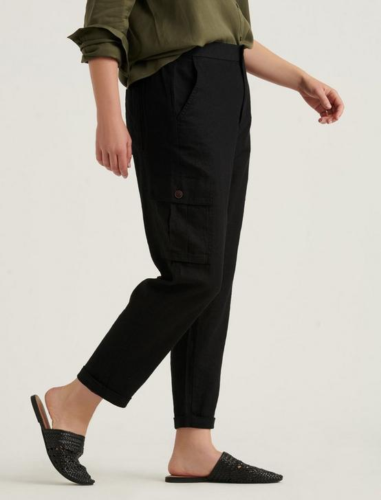 CARGO PANT, WASHED BLACK, productTileDesktop
