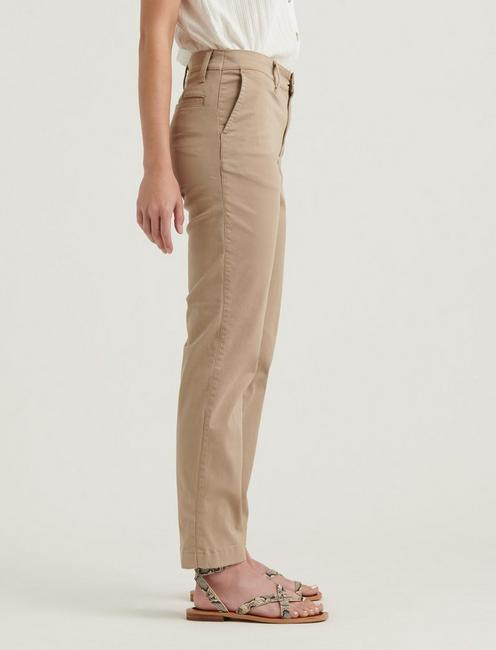MID RISE SLIM CHINO, CHINCHILLA
