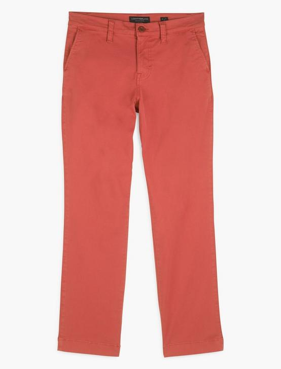 MID RISE SLIM CHINO, BURNT SIENNA, productTileDesktop
