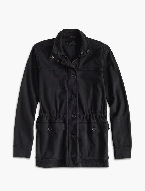 UTILITY JACKET, WASHED BLACK, productTileDesktop